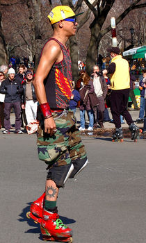 A skater in Central Park von RicardMN Photography