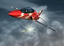 "BAE Hawk ""fox 3"" von Mark Seberini"