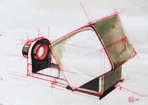 Slide projector 2/3  by Katalin Szasz-Bacso