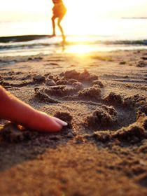 Sand on my skin by Nicoleta Costin