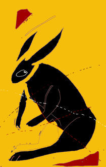 Rabbit/Hare by literal-illustrations