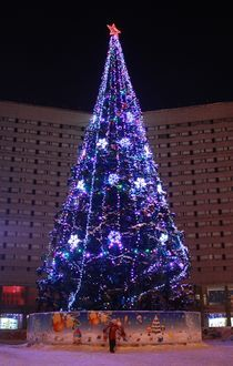 Christmas Tree(Murmansk) by iskaksen