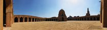 The Courtyard - Masjid Ahmed Ibn Tulun- Panoramic View / Cairo / Egypt - 28 05 2010 von Ahmed Al.badawy