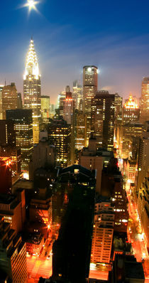 New York - Art Print - SKYLINE 2of3 von temponaut