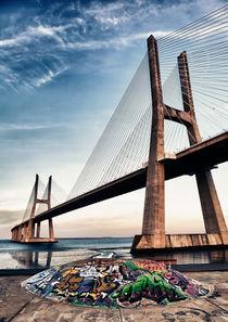 Vasco da Gama Bridge von Nelson Teixeira