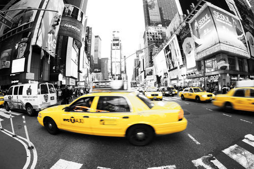 New-york-taxi-times-square-gallery-fine-art-print-kunstdruck-leinwand-poster-temponaut