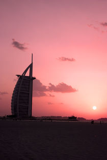 Burj Al Arab by night by sylviphotography