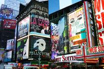 New York Times Square - Art Print Kunstdruck by temponaut
