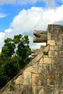 Pyramide Chichen Itza auf der Halbinsel Yucatan, Mexiko von Marita Zacharias