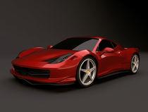 Ferrari 458 Italia restyled by Nikola Novak