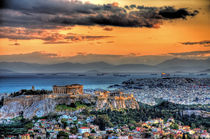 A warm afternoon in Athens von stamatisgr