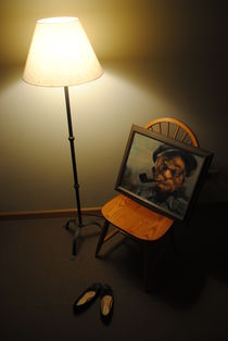 Grandfather's Lamp von Elyse Pyle