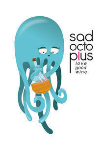 Sad OctopLus 1 by Francesca Blè