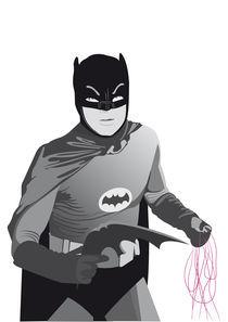 The Old Batman by Francesca Blè