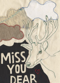 Miss You Dear by Solveig Hvidt