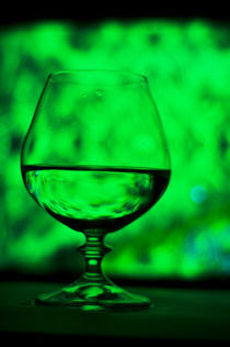 green goblet by Vadym Sapatrylo