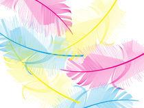 Yumini Feathers von Anne Sciberras
