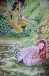 Wood Fairies by streamfairy