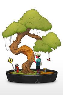 Tree Painting by Francisco Perez