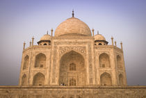 Low Angle of the Taj Mahal by Russell Bevan Photography