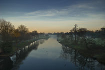 River Avon Sunset von Russell Bevan Photography