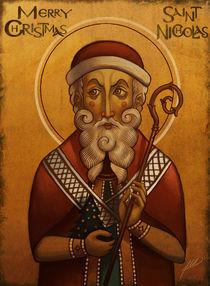 Byzantine Santa Claus by Juan Alvarez de Lara