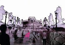 Castel Sant Angelo by Weston Baker