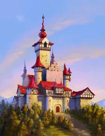 Fairytale Castle by Juan Alvarez de Lara
