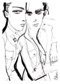 Twins von Elena Tsaregradskaya