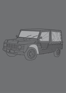 Citroën Méhari by Alessandro Geri Rustighi