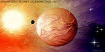 Sonne-und-planet-in-zeit-und-raum