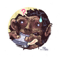 iPhone of the Apes by Logan Faerber