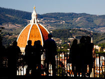 people looking at Florence by Federico Paoli