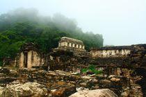 Mystische Maya Kultstätte Palenque in Mexiko von Marita Zacharias