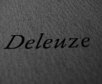 Deleuze by rebeca yanke