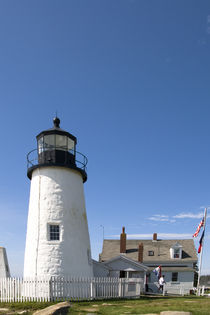 Maine Lighthouse on a Clear Day by Tom Warner