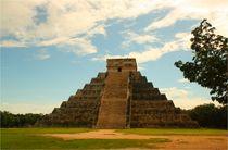 Kukulcán Pyramide im faszinierenden Land der Mayas von Marita Zacharias