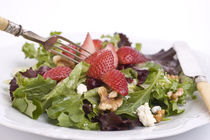 Strawberry Walnut Tossed Salad by Tom Warner