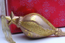 Golden Tree Ornament by Tom Warner