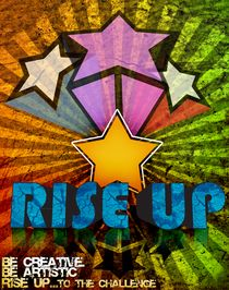 Rise up Poster by Martin Siilak