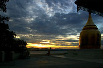 Sunset over the Irrawaddy River by RicardMN Photography