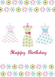 Party Dresses by Caroline Allen
