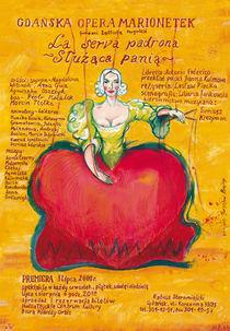 La serva padrona, poster von bujny