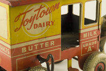 Toy Dairy Truck by Tom Warner