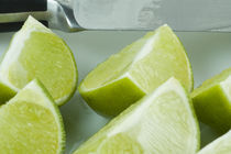 Fresh Limes by Tom Warner