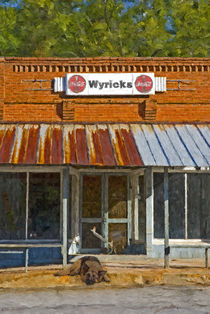 Wyrick's General Store von Tom Warner