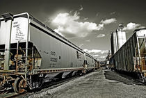 Train Cars by J Nathaniel Dicke