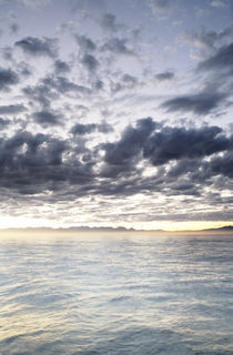 Dawn Light Over False Bay, South Africa by Neil Overy