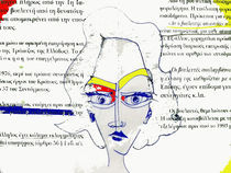 mondrian lady by Chrisafenia KalkanG