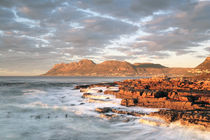 Dawn Over False Bay from Kalk Bay, South Africa by Neil Overy